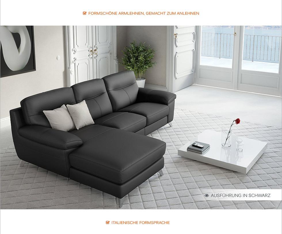 leder eckcouch ecksofa sofagarnitur sitzecke leder sofaecke polstergarnitur sofa. Black Bedroom Furniture Sets. Home Design Ideas