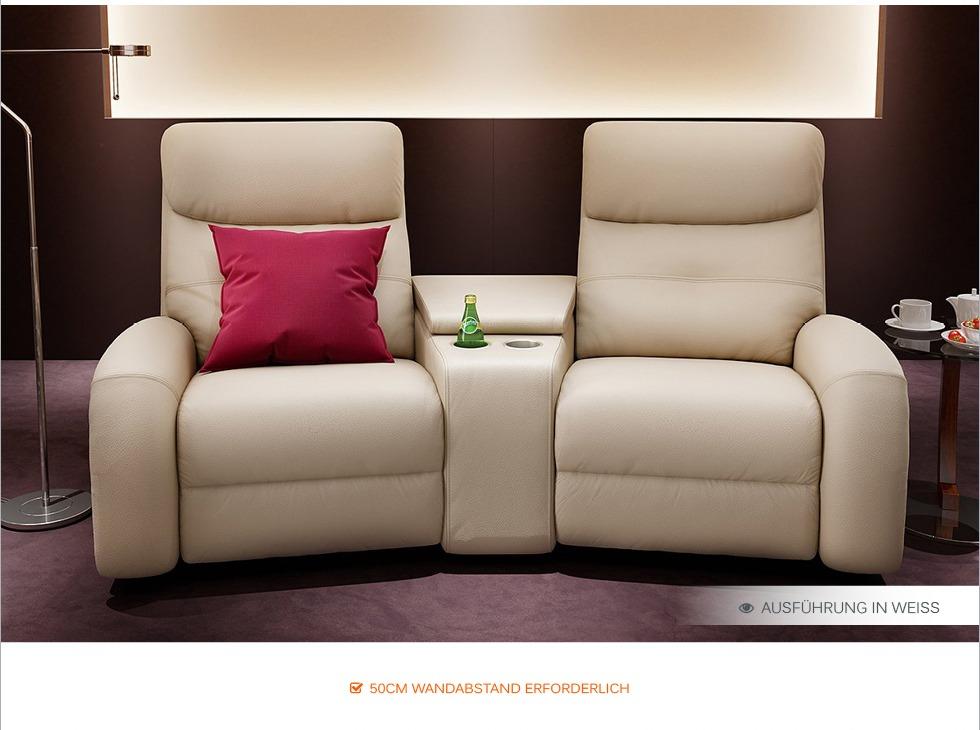 heim kino sofa leder garnitur relax couch tv sofa kino sessel fernsehsessel neu ebay. Black Bedroom Furniture Sets. Home Design Ideas