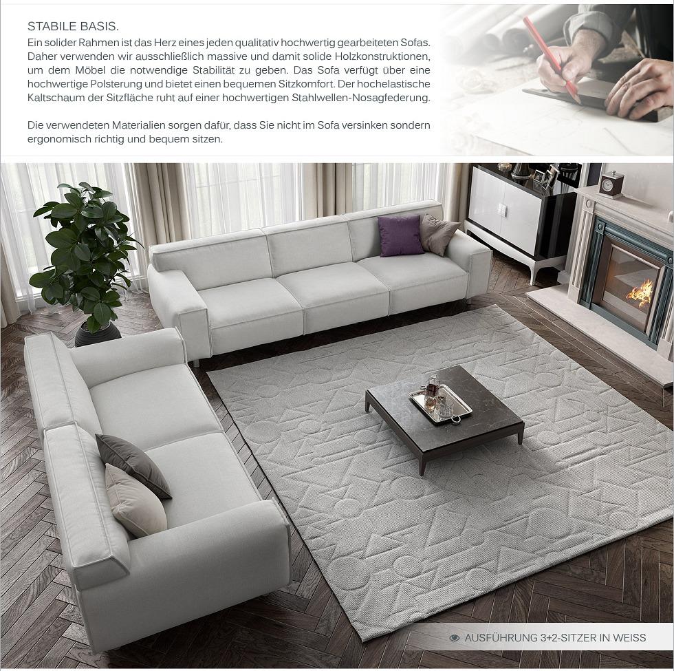 couchgarnitur sofagarnitur textil stoff sofa couch xxl polstergarnitur 2 sitzer ebay. Black Bedroom Furniture Sets. Home Design Ideas