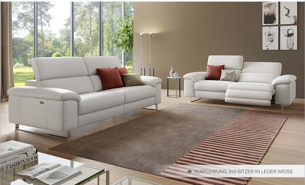 Loveseat Sessel Kino ~ Funktionscouch Stoff Sofa Couch Polster Garnitur 2Sitzer Relax Sessel